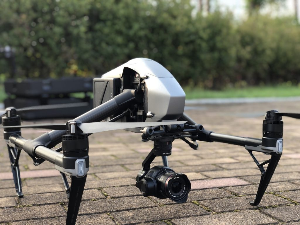 drone, inspire, multicopter